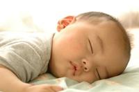 寝ている赤ちゃん1